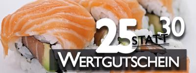 """Wertgutschein """"25statt30"""""""